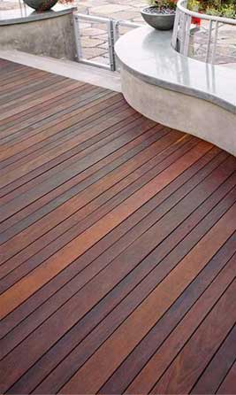 Decking Timber with tongue and groove for outside deck