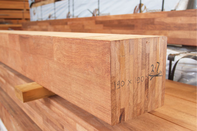Glulam SPF Timber beam